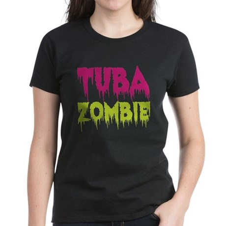 Tuba Zombie Women's Dark T-Shirt