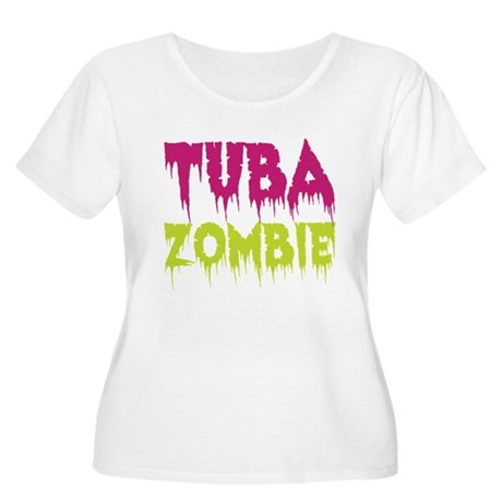 Tuba Zombie Women's Plus Size Scoop Neck T-Shirt