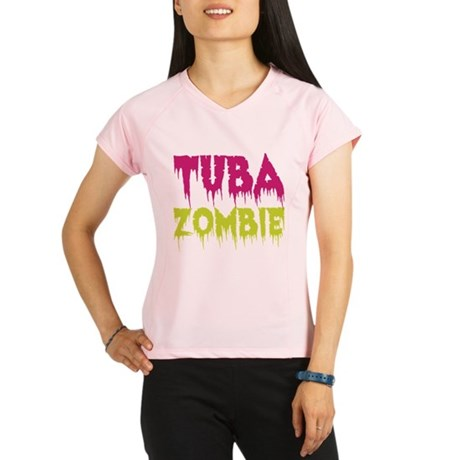 Tuba Zombie Performance Dry T-Shirt