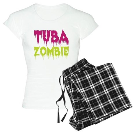 Tuba Zombie Women's Light Pajamas