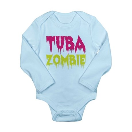 Tuba Zombie Long Sleeve Infant Bodysuit
