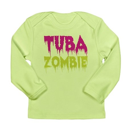 Tuba Zombie Long Sleeve Infant T-Shirt