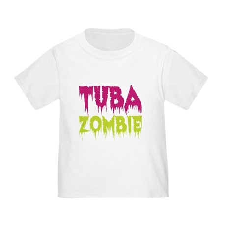 Tuba Zombie Toddler T-Shirt