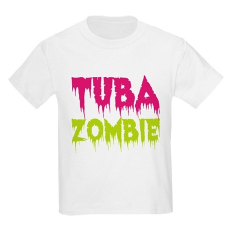 Tuba Zombie Kids Light T-Shirt
