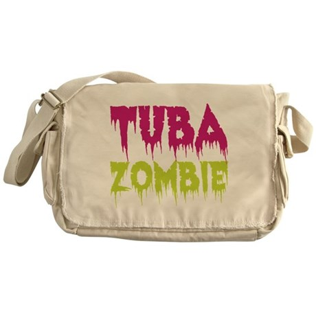 Tuba Zombie Messenger Bag