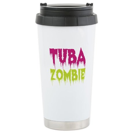 Tuba Zombie Ceramic Travel Mug