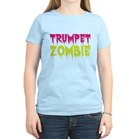 Trumpet Zombie Women's Light T-Shirt