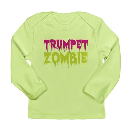 Trumpet Zombie Long Sleeve Infant T-Shirt