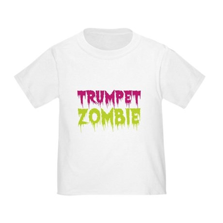 Trumpet Zombie Toddler T-Shirt