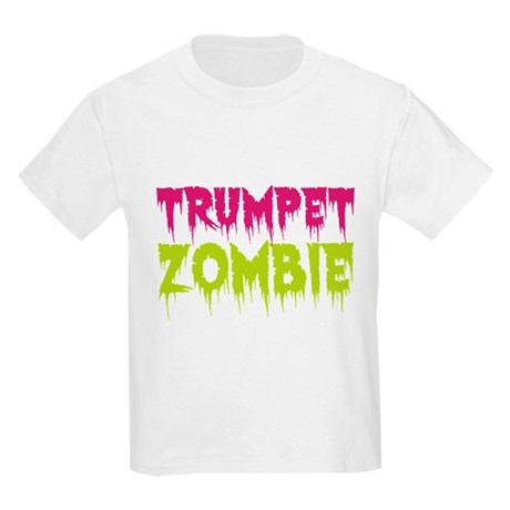 Trumpet Zombie Kids Light T-Shirt