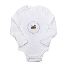 Funny Noah's ark Long Sleeve Infant Bodysuit