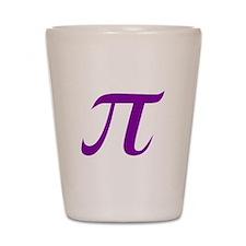 Purple Pi Shot Glass