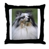 Cute Sheltie Throw Pillow