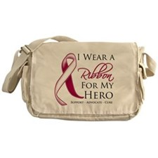 Hero Throat Cancer Messenger Bag