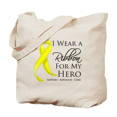Hero Testicular Cancer Tote Bag