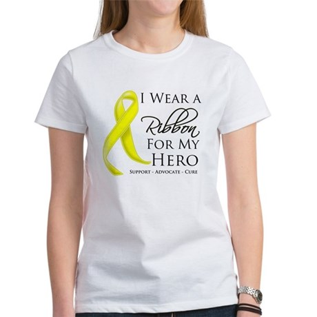 Hero Testicular Cancer Women's T-Shirt