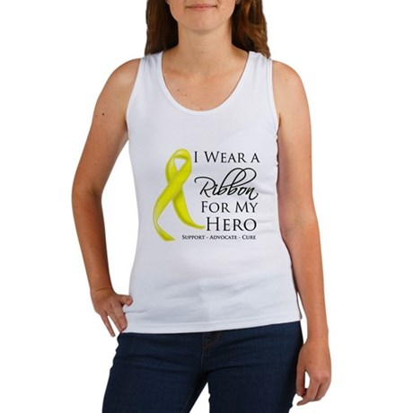 Hero Testicular Cancer Women's Tank Top