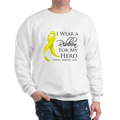 Hero Testicular Cancer Sweatshirt