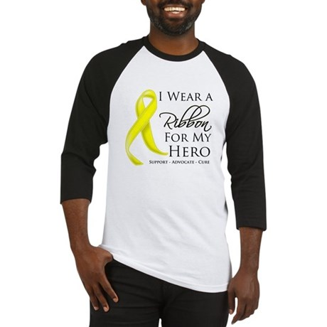Hero Testicular Cancer Baseball Jersey