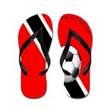 The Soca Warriors Flip Flops / Trinidad & Toba