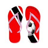 The Soca Warriors Flip Flops / Trinidad &amp;amp; Toba