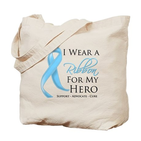 Hero Prostate Cancer Tote Bag