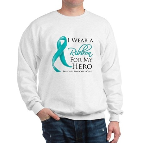 Hero Ribbon Cancer Sweatshirt