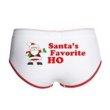 Santa's Favorite Ho Women's Boy Brief