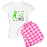 Hero Ribbon Lymphoma pajamas