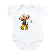 Little Cowboy2 Infant Bodysuit