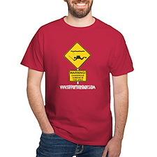 Caution Spear Diver T-Shirt