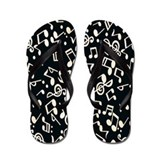 Music Note Flip Flops