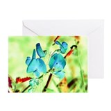 Artistic (Wild Sweet Pea) Greeting Card