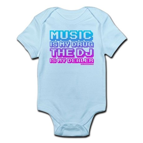 Music Is My Drug Infant Bodysuit