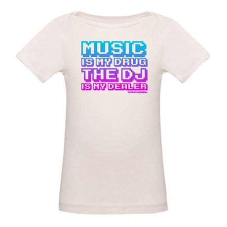 Music Is My Drug Organic Baby T-Shirt