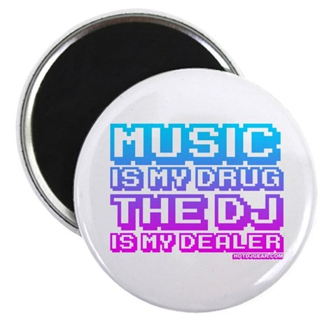 Music Is My Drug Magnet