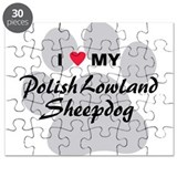 Polish Lowland Sheepdog Puzzle