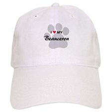 I Love My Beauceron Cap