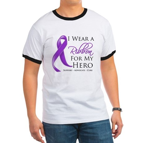 Hero Ribbon Leiomyosarcoma Ringer T