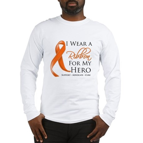 Hero Kidney Cancer Long Sleeve T-Shirt