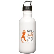 Hero Kidney Cancer Water Bottle