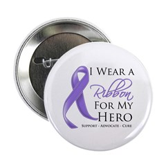 "Hero Hodgkin Disease 2.25"" Button (100 pack)"