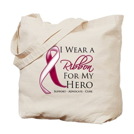 Hero Head Neck Cancer Tote Bag