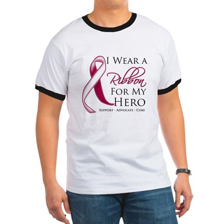 Hero Head Neck Cancer Ringer T