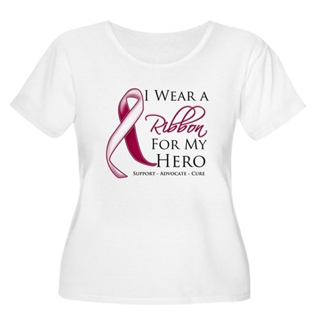 Hero Head Neck Cancer Women's Plus Size Scoop Neck