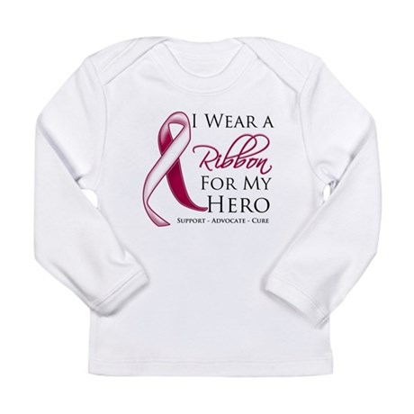 Hero Head Neck Cancer Long Sleeve Infant T-Shirt