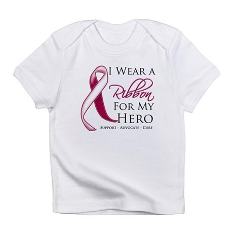 Hero Head Neck Cancer Infant T-Shirt