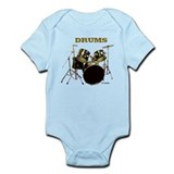 DRUMS Infant Bodysuit
