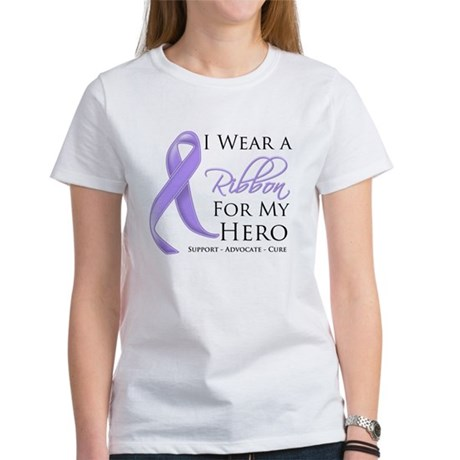 Hero Ribbon General Cancer Women's T-Shirt