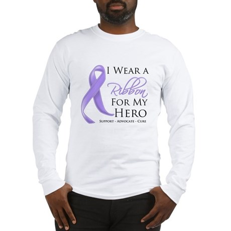 Hero Ribbon General Cancer Long Sleeve T-Shirt